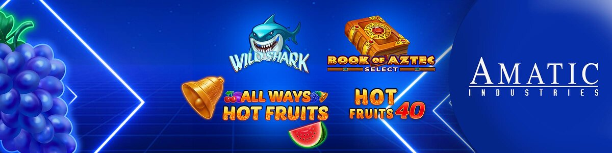 Играть в игры Book of Aztec Select, Hot Fruits 40, Wild Shark, Allways Hot Fruits и получить на 30% больше CP