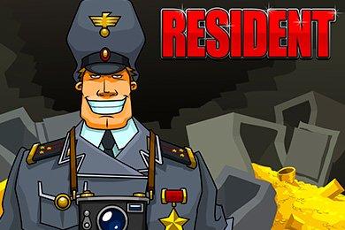 Слот Резидент от разработчика игр Igrosoft