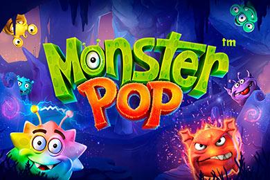 Слот Monster Pop с пятью барабанами от Betsoft провайдера