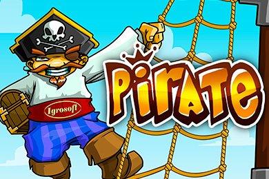 Слот Пират с 5 барабанами над деньги
